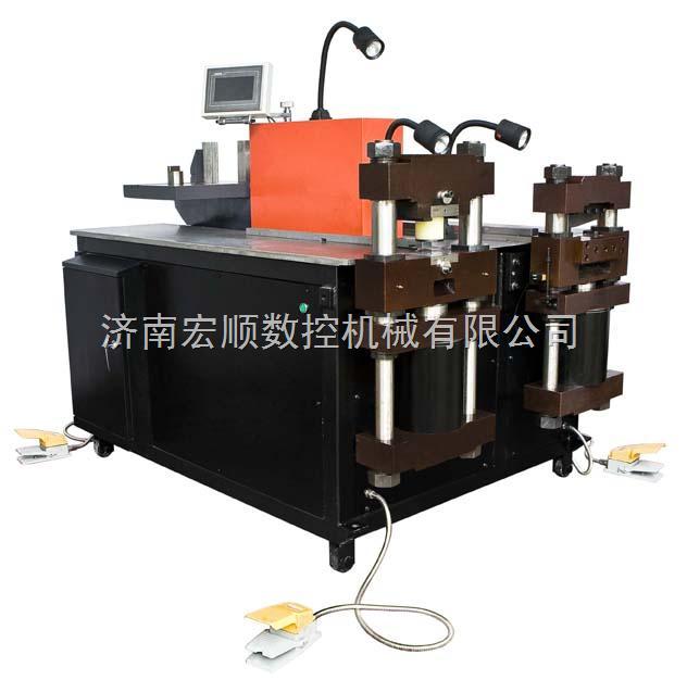 万能液压铜铝排母线加工机
