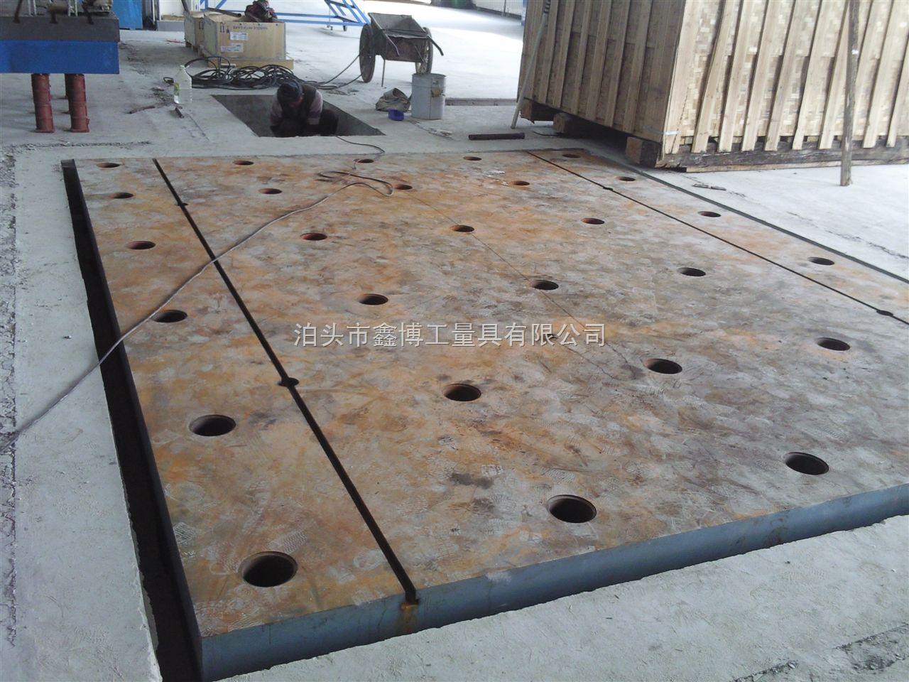 鑫博厂家专业供应铸铁试验平台诚信三年质保