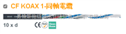 CFKoax1同轴电缆