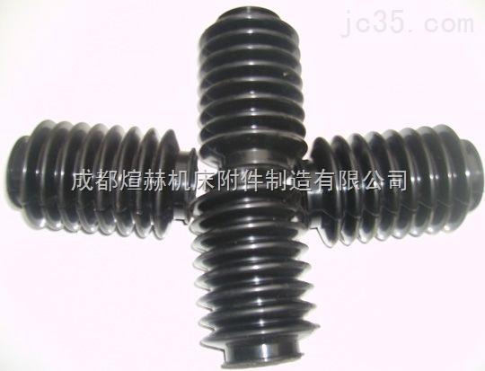 供应耐磨耐腐蚀螺杆缝制式油缸防尘罩产品图片