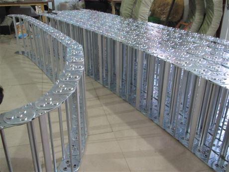 铸造机械穿线钢铝拖链