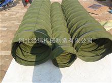 圓形橡膠布伸縮軟連接 防油防水帆布軟連接