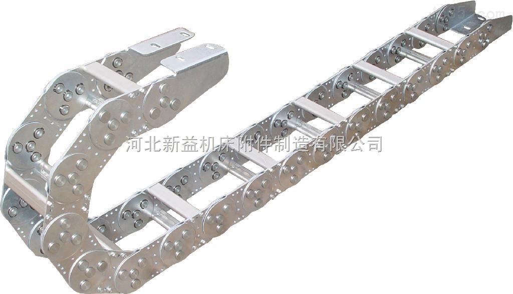 机床设备穿线不锈钢钢制拖链