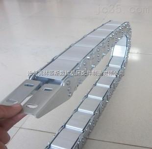 数控加工中心钢制拖链
