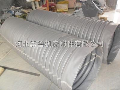 筒子式灰色三防布风机风道口软连接