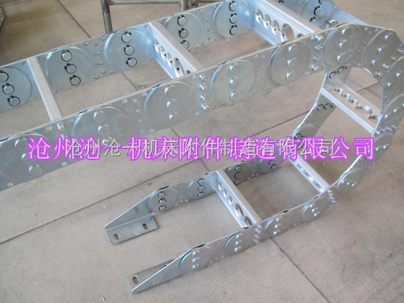 桥式线缆铁制拖链制造厂