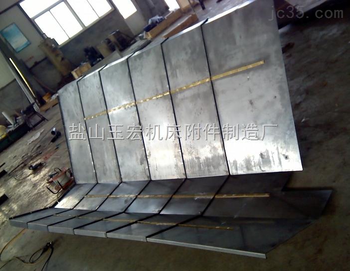 金属法兰盘连接钢板防护罩