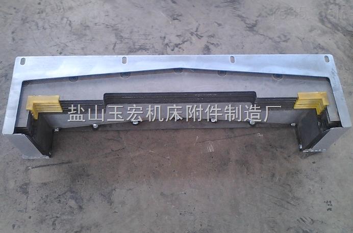横向钢板式机床导轨防护罩