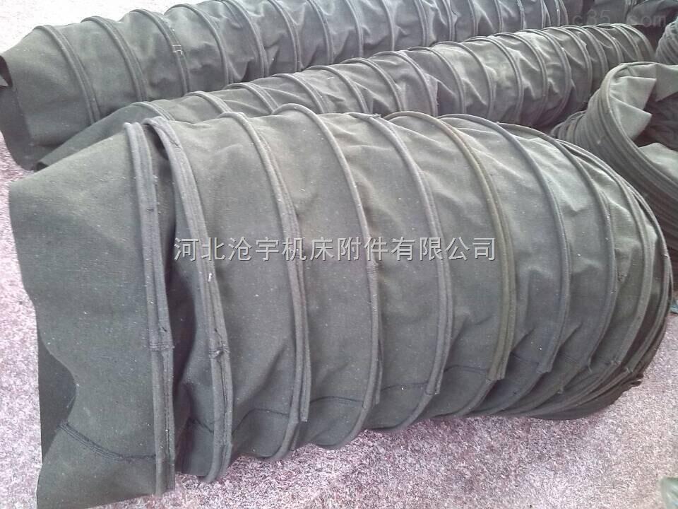 耐电压伸缩式风道口帆布软连接