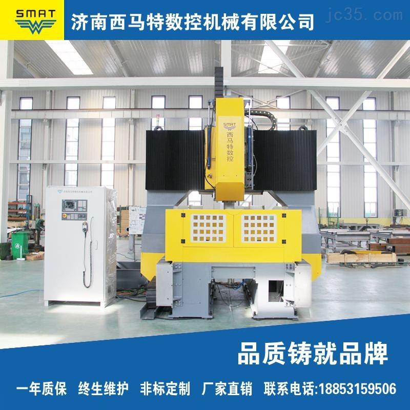 西马特龙门数控高速钻床 大型板材钻削加工设备