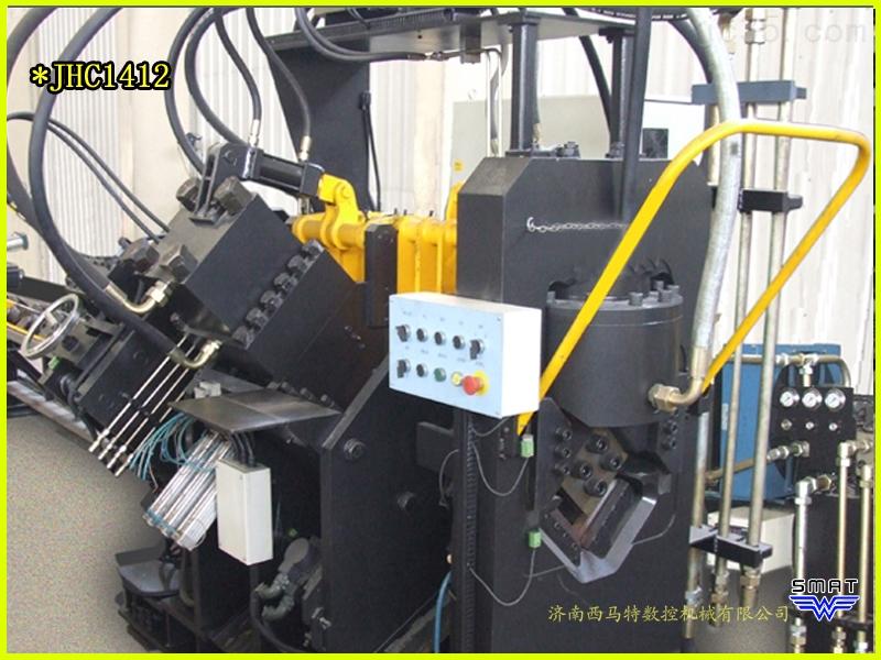 JHC数控型钢联合生产线 角钢冲孔生产线