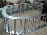 西安钢制拖链 钢铝拖链使用 贵阳船厂用坦克链