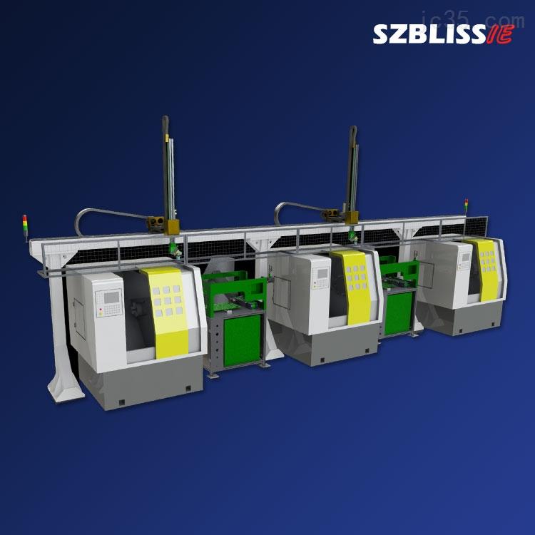 经济型多联机数控机床机械手 自动化设备