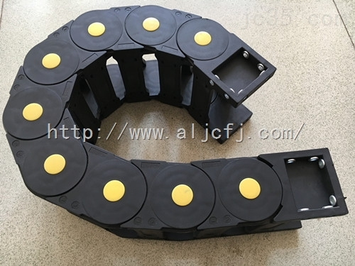 大连数控机床拖链 重型钢厂用油管拖链 船厂使用拖链