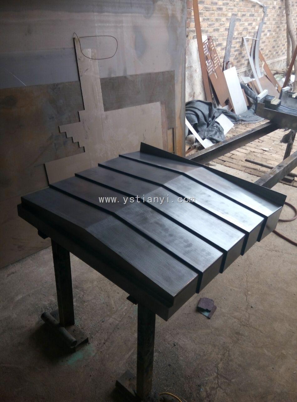 沧州数控机床钢板防护罩供应商