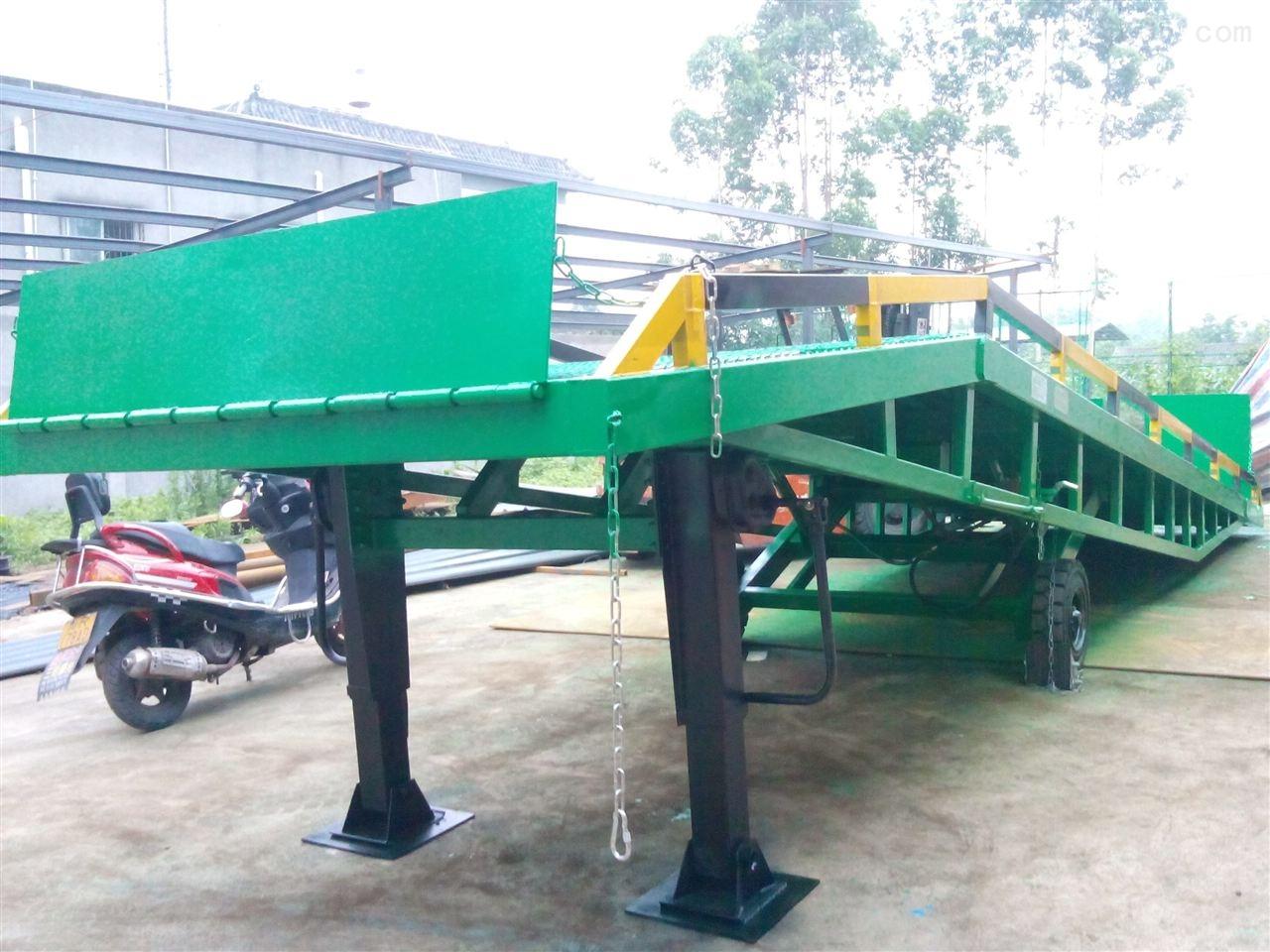 10吨移动式登车桥生产厂家
