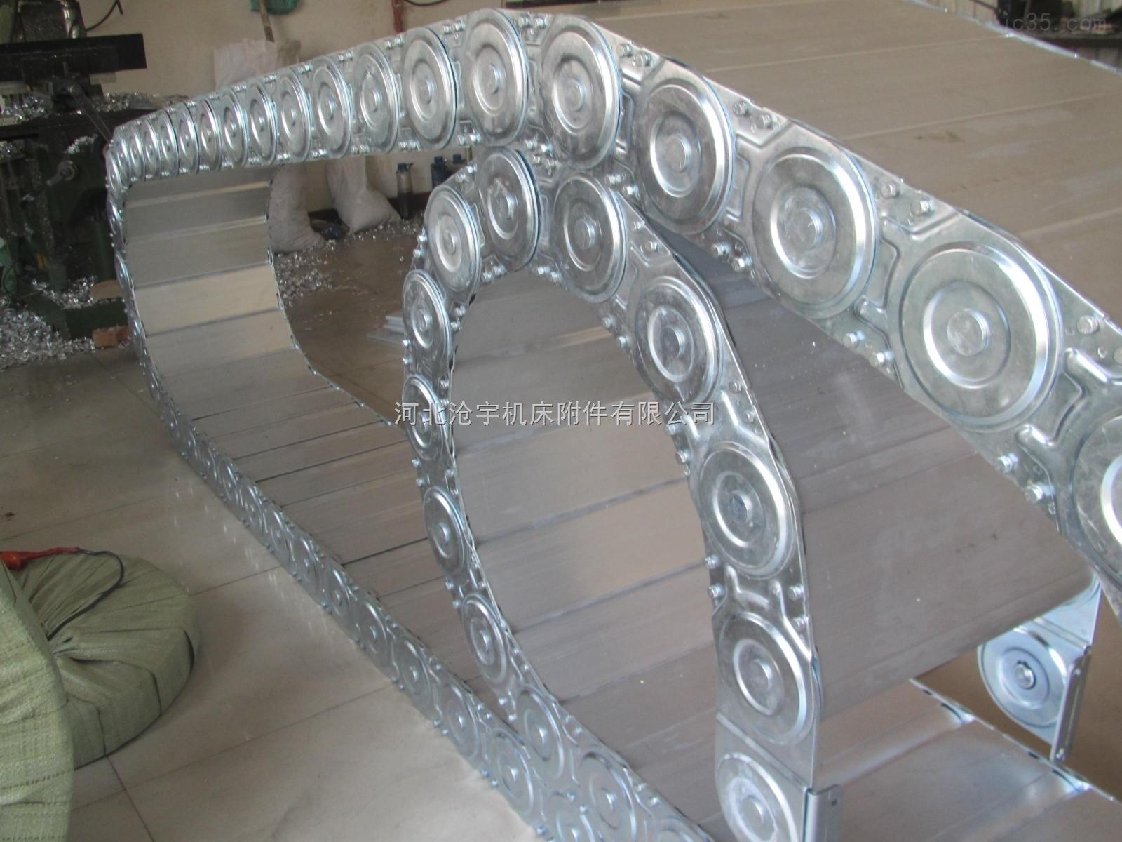 桥式不锈钢拖链大型工业用