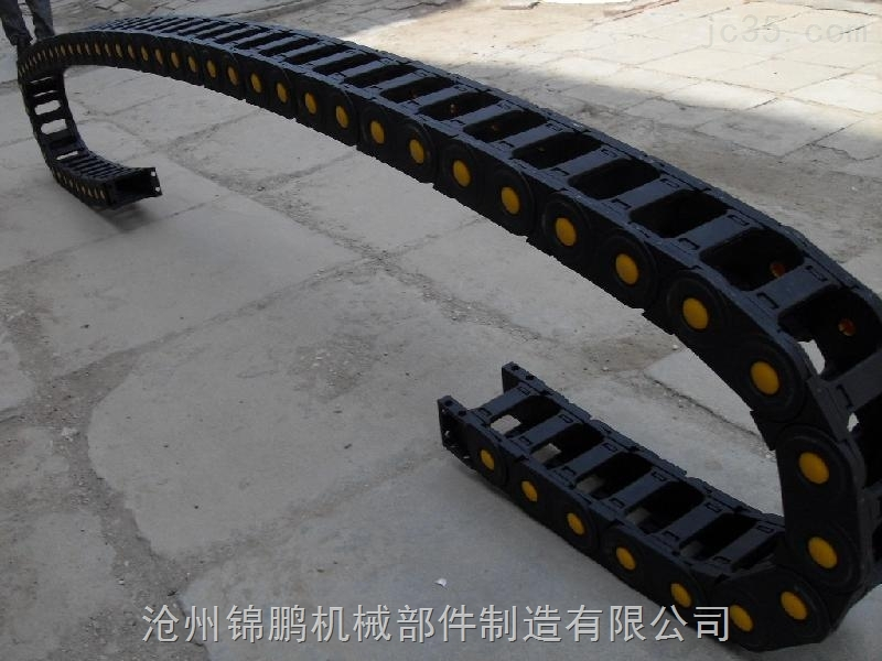 45*125超耐磨塑料拖链