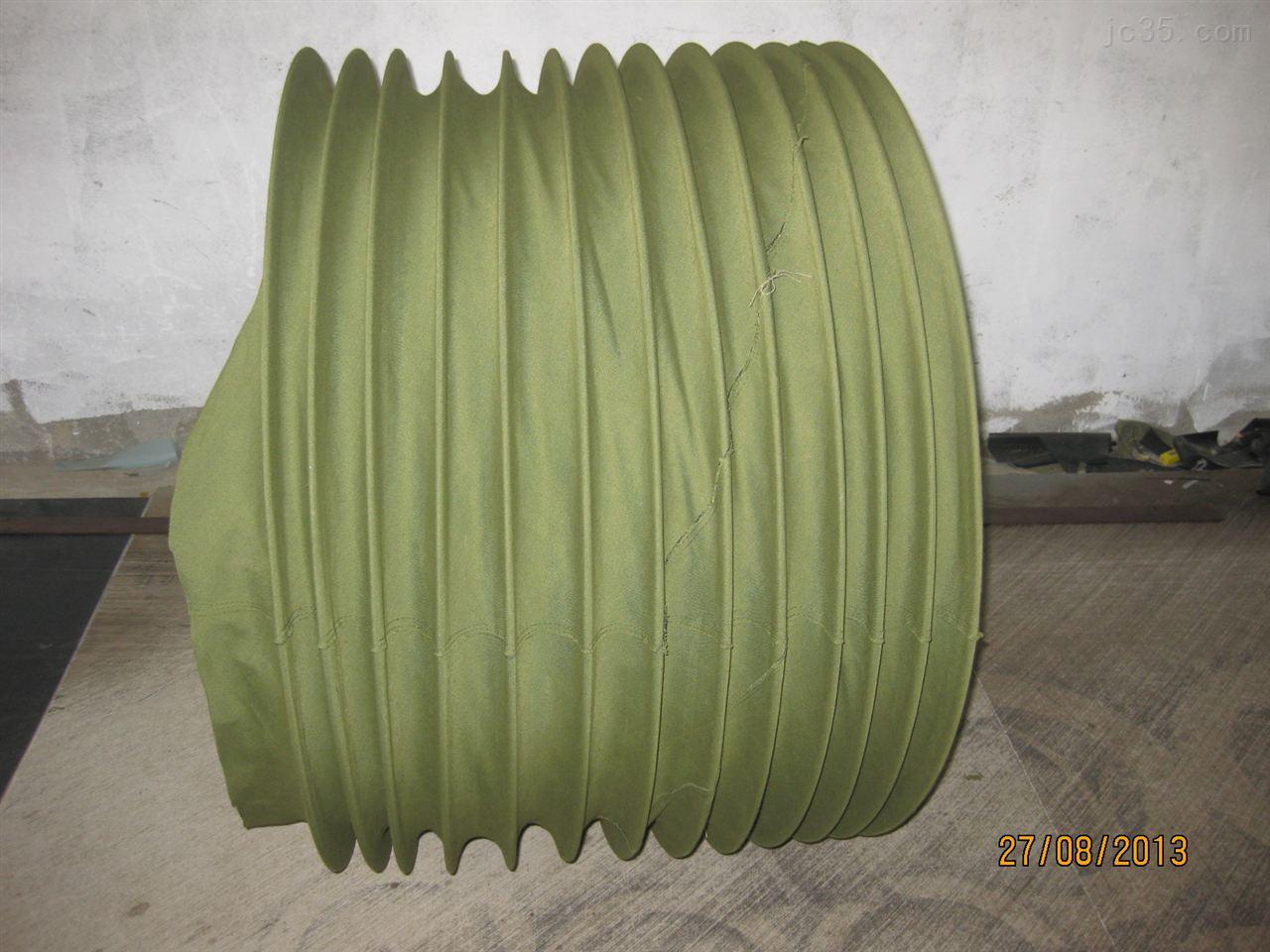 专业定制圆形通风风道口帆布软连接