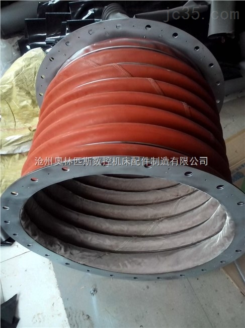 除尘设备专用高温除尘伸缩软连接