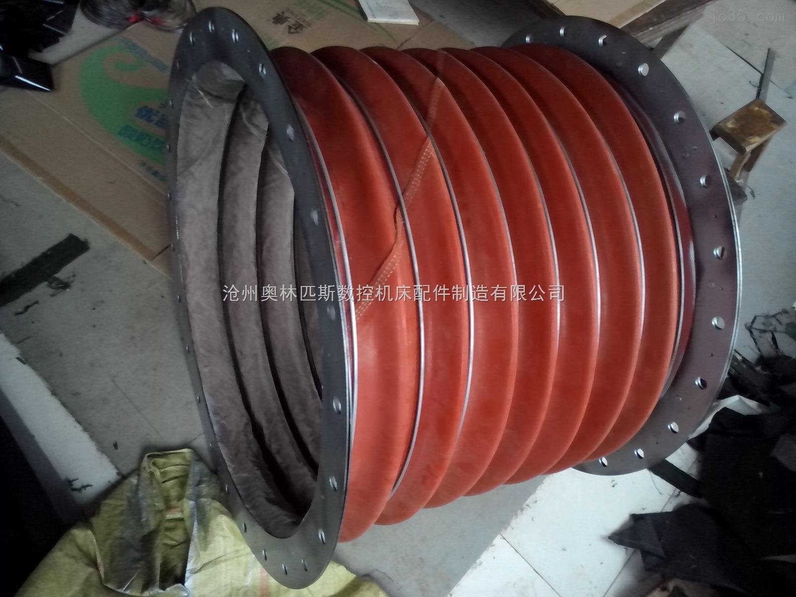 钢铁厂高炉除尘专用高温除尘通风软连接