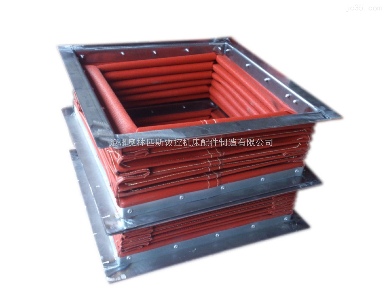 长治铝厂专用耐高温通风软连接