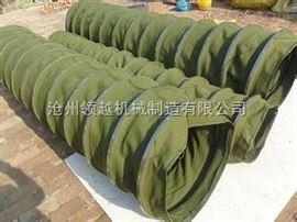 双层耐磨帆布钢丝骨架软连接专业制造