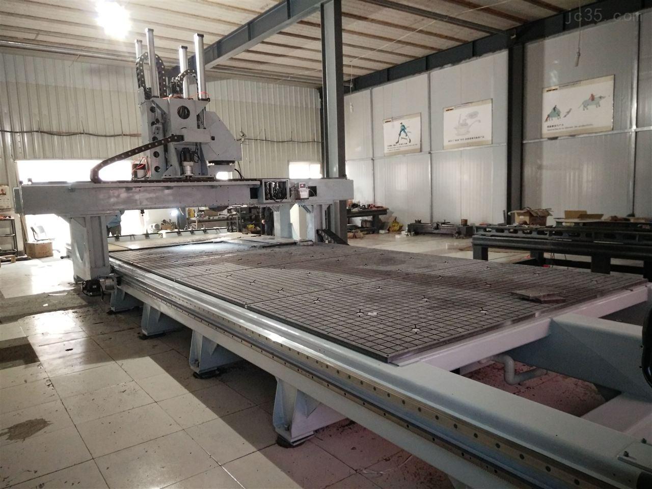型材加工中心,铝型材、铝蜂窝板通用五轴数控金属雕刻机