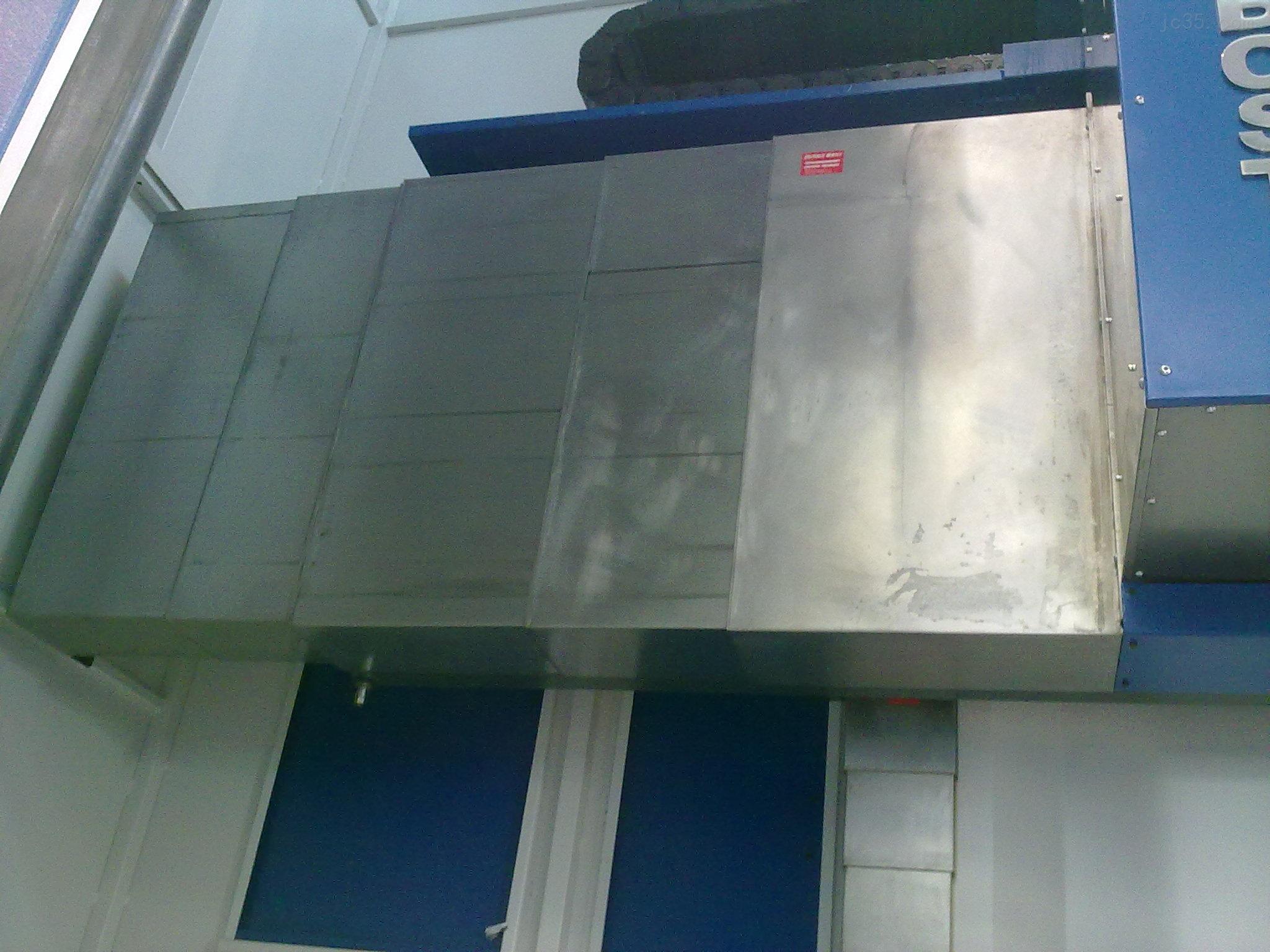 龙门机床专用钢板防护罩