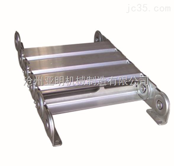 厂家直销亚明铣床不锈钢钢制拖链