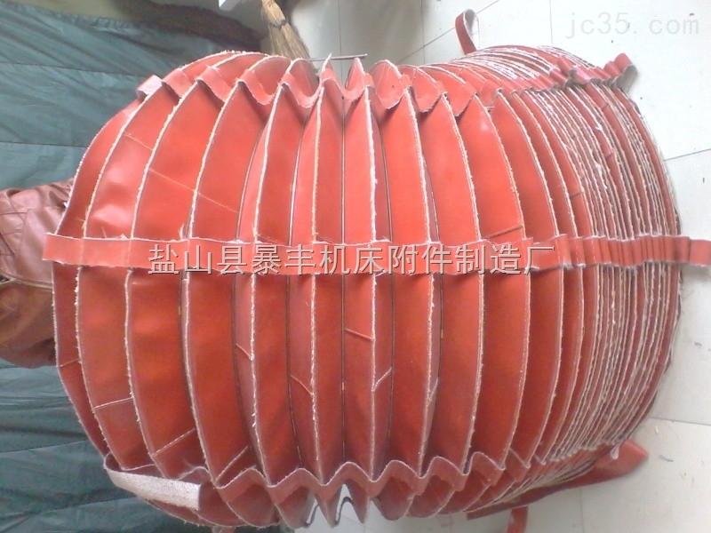 缝制式风琴防护罩 方形缝制式防尘罩