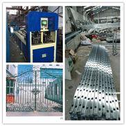 锌钢护栏货架立柱竞技宝全自动打孔设备液压打孔机