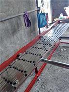 锌钢护栏液压打孔机