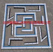 优质铝合金耐磨导轨刮屑板厂家