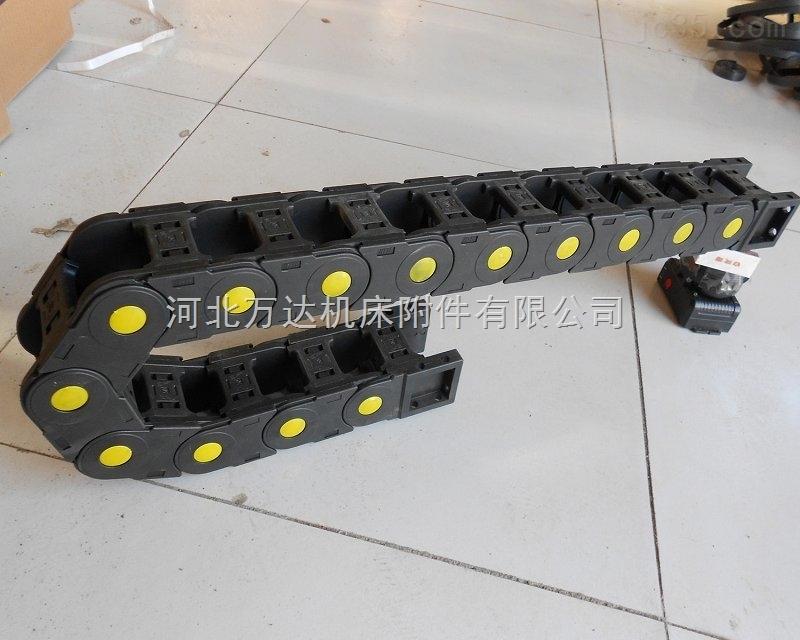 济南桥式大型工程尼龙穿线塑料拖链