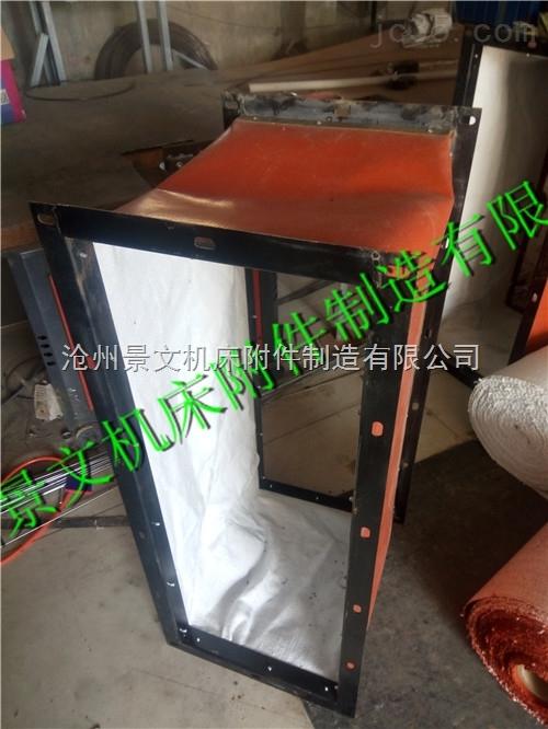 北京烘箱专用长方形风道软连接供应