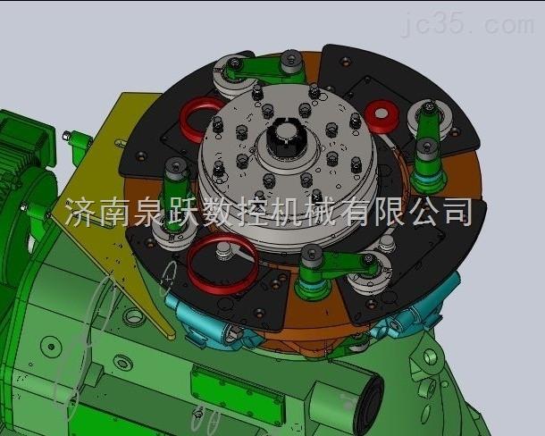 四工位轴承套圈辗环机 KFRW系列D54型