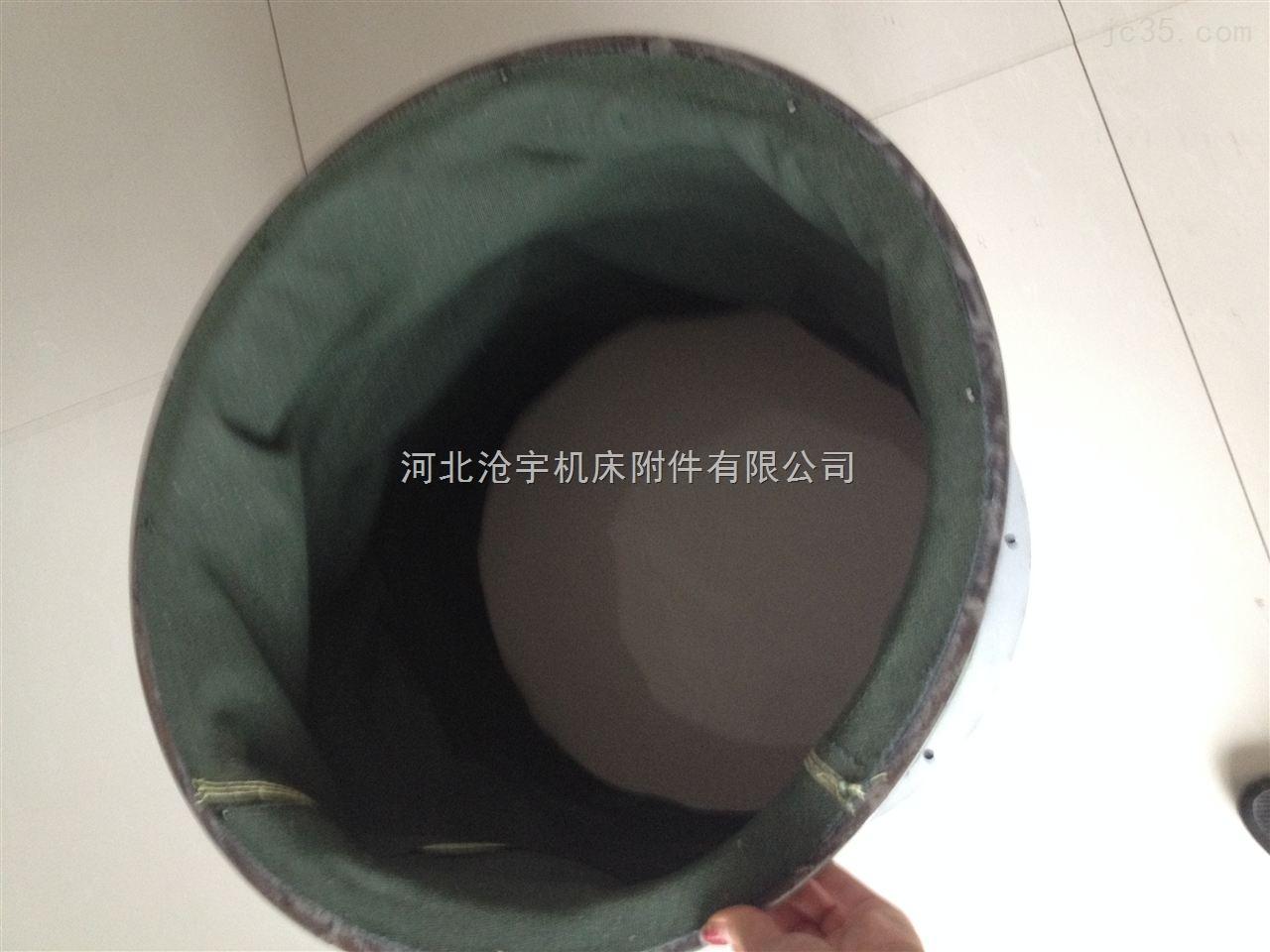 密封式阻燃设备耐磨损帆布软连接