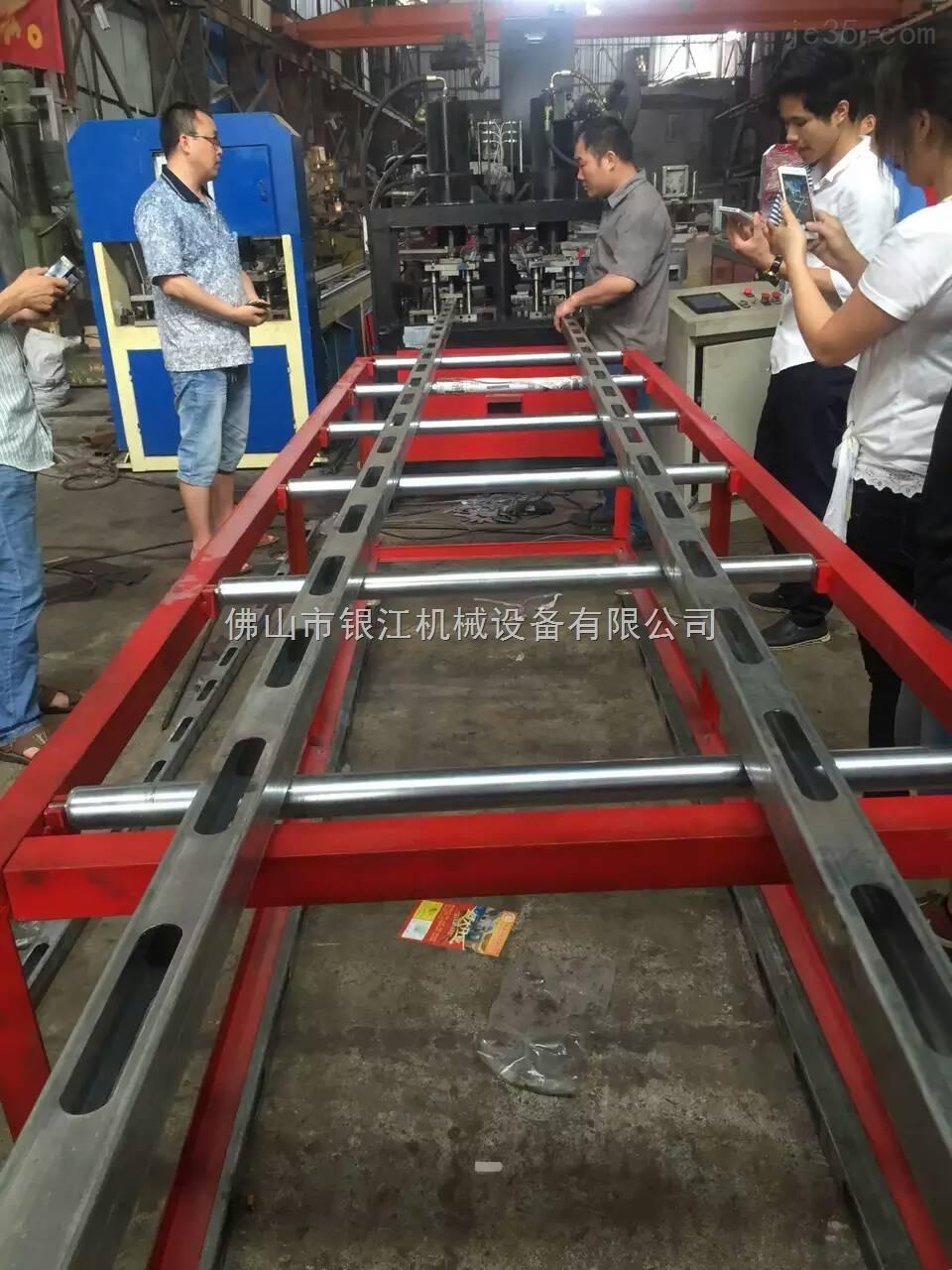 新型建筑模板钢木龙骨数控自动化冲孔设备