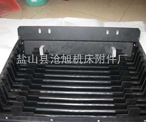 防油耐高温铠甲式伸缩防护罩