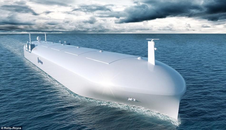 英国公司开发远程操控无人船:或2020年成现实