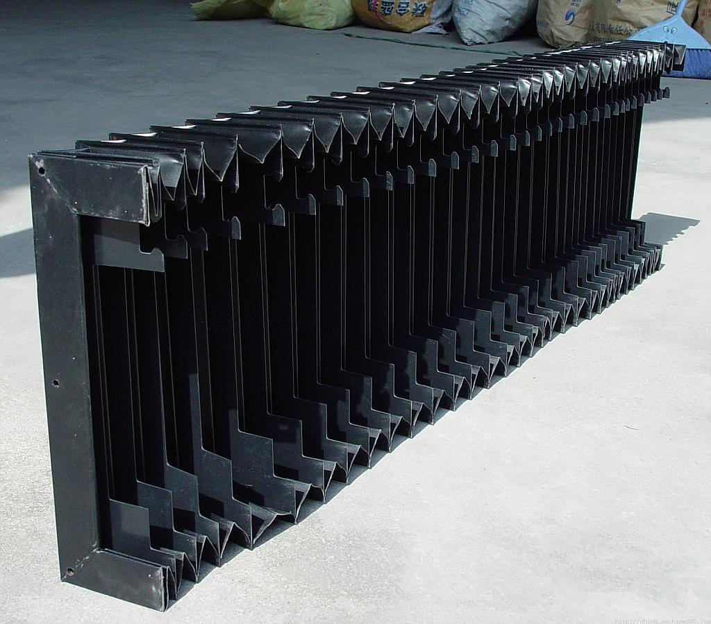 机床柔性风琴防护罩产品图
