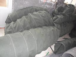 耐磨通风水泥伸缩布袋产品图