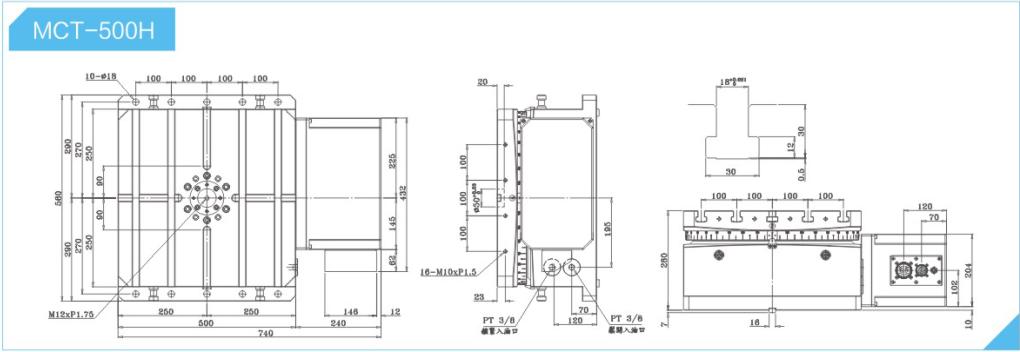 cnc数控分度盘 卧式单盘结构特点