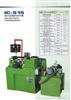 滚丝机、台湾强力油压式滚牙机、滚管机,滚齿机